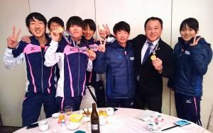 大分合同駅伝 竹田チーム成績 順位4位 4 大分県議会議員 土居昌弘
