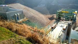 試験湛水が始まった大分川ダム2  大分県議会議員 土居昌弘