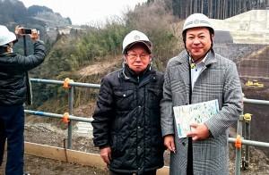 玉来ダム建設工事1 大分県議会議員 土居昌弘
