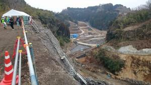 玉来ダム建設工事4 大分県議会議員 土居昌弘