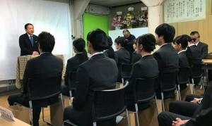 地域医療に貢献する豊西学院 卒業式2 大分県議会銀 土居昌弘