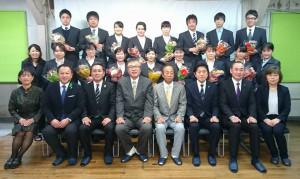 地域医療に貢献する豊西学院 卒業式 大分県議会銀 土居昌弘