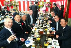 レゾネイト久住高原コテージの開業20周年祝賀会3 大分県議会議員 土居昌弘