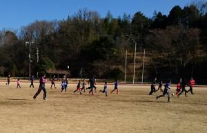 小学生サッカーの卒団イベント 大分県議会議員 土居昌弘