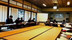 竹田のまちの電線地中化の話し合い3 大分県議会議員 土居昌弘