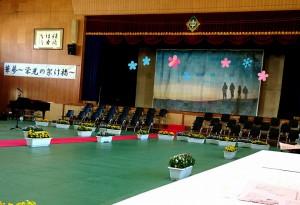 平成30年度の入学式2 午前中は竹田中学校、午後は竹田高校 大分県議会議員 土居昌弘