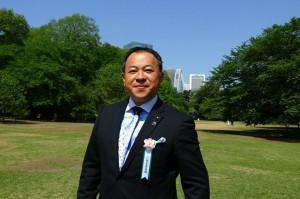 安倍総理主催の桜を見る会 大分県議会議員 土居昌弘