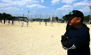 竹田直入FCの応援4 大分県議会議員 土居昌弘