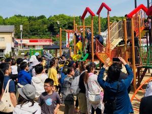 竹田市に児童公園「竹の子ひろば」が完成2 大分県議会議員 土居昌弘