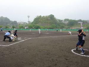 竹田で開催中の九州高校女子ソフトボール選手権大会の応援2 大分県議会議員 土居昌弘