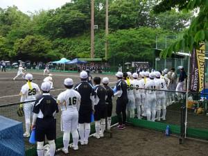 竹田で開催中の九州高校女子ソフトボール選手権大会の応援 大分県議会議員 土居昌弘