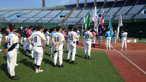 24聖人公園で九州県議会親睦野球長崎大会開催 大分県議会議員 土居昌弘
