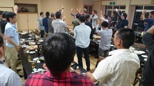 竹田市防災士会総会と消防団送別会2 大分県議会議員 土居昌弘
