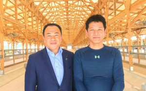 別府と杵築をまわり、花と和牛を中心に勉強2 大分県議会議員 土居昌弘