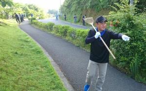 朝7時から学校の掃除。皆さん、お疲れ様でした。 大分県議会議員 土居昌弘