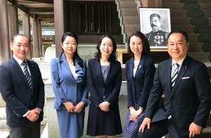 白坂さんと伊藤さんが笑います。私と森県議が瓜二つだと。 大分県議会議員 土居昌弘