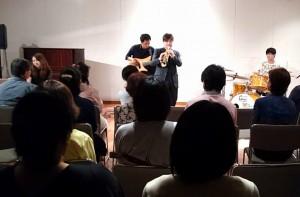 但馬屋さんで「ja ja」の素敵なジャズコンサート 大分県議会議員 土居昌弘