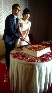 結婚式にて 大分県議会議員 土居昌弘