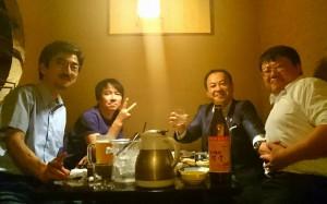 同級生と 大分県議会議員 土居昌弘