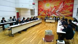 知事、市長、土地改良区の皆さんと大蘇ダムについて協議 大分県議会議員 土居昌弘