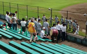 夢・甲子園!県予選で三重総合高校に0対3。竹田高校野球部の今年の夢は終わりました 大分県議会議員 土居昌弘