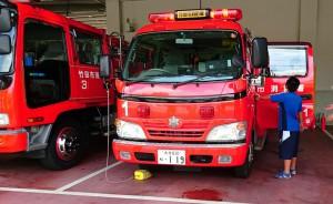 竹田消防署見学 大分県議会議員 土居昌弘