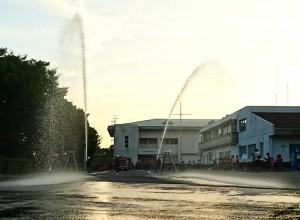 大分県消防操法大会出場の壮行会4 大分県議会議員 土居昌弘