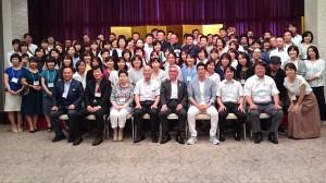 竹田高校の同窓会1 大分県議会議員 土居昌弘