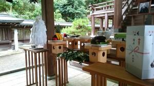 竹田の廣瀬神社 阿南惟幾大将年忌祭ならびに平和祈願祭3 大分県議会議員 土居昌弘