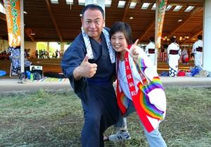 奥豊後の踊りを楽しむ夕べ2 大分県議会議員 土居昌弘