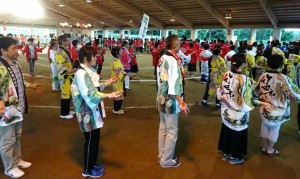 奥豊後の踊りを楽しむ夕べ3 大分県議会議員 土居昌弘