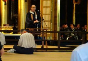 本願寺で晨朝勤行(じんじょうごんぎょう)4 大分県議会議員 土居昌弘