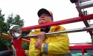 地元消防団の月例点検2 大分県議会議員 土居昌弘