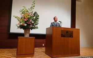 九州木材青壮年連合会の大会 大分県議会議員 土居昌弘
