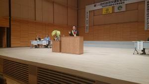 竹田市交通安全市民大会3 大分県議会議員 土居昌弘
