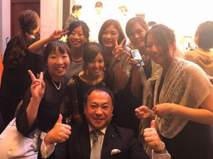 首藤圭人くんと麻紗子さんの結婚披露宴2 大分県議会議員 土居昌弘