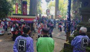 宮処野神社の大祭2 大分県議会議員 土居昌弘