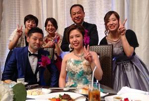 首藤圭人くんと麻紗子さんの結婚披露宴 大分県議会議員 土居昌弘