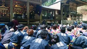 宮処野神社の大祭 大分県議会議員 土居昌弘